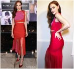 Madeline  Brewer In  Cushnie Et  Ochs @ Vanity Fair And Lancome Paris Toast Women In Hollywood