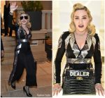 Madonna In Temperley London  @ MDNA SKIN Barneys Launch in Beverly Hills