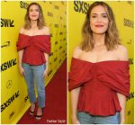 "Mandy Moore in Brock Collection @ ""This Is Us"" SXSW Premiere"