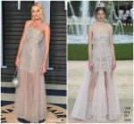 Margot Robbie  In  Chanel  @  2018 Vanity Fair Oscar Party