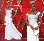 Mary J Blige In Atelier Versace  @ 2018 Oscars