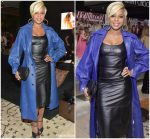 Mary J. Blige In  Michael Kors Collection  @  The Hollywood Reporter And Jimmy Choo Power Stylists Dinner