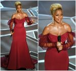 Mary J. Blige In Vera Wang  @  2018 Oscars Performance