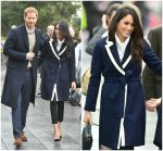 Meghan Markle In J. Crew & All Saints  @  Birmingham Visit