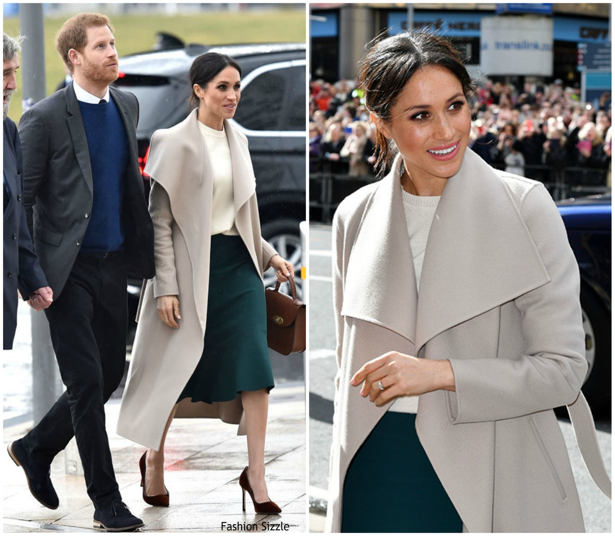 Meghan Markle Just Took the Victoria Beckham Route for Her Wedding Guest Outfit recommendations