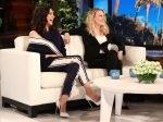 Mila Kunis In Monse @ The Ellen DeGeneres Show