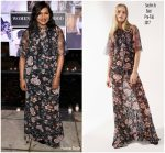 Mindy Kaling In  Sachin  & Babi @ Vanity Fair And Lancome Paris Toast Women In Hollywood