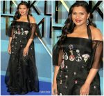 Mindy Kaling In Temperley London  @  'A Wrinkle In Time' London Premiere
