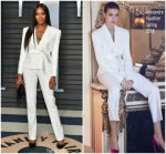 Naomi Campbell  In Alexandre Vauthier  @  2018 Vanity Fair Oscar Party