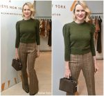 Naomi Watts  In Michael Kors Collection @  Tod's x Barneys New York Capsule Collection launch