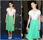 Natalia Dyer in Delpozo @ Paley Center for Media's 35th Annual PaleyFest Los Angeles