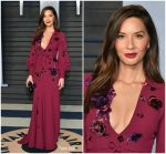Olivia Munn  In Andrew Gn  @ 2018 Vanity Fair Oscar Party