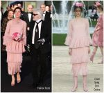 Princess Caroline of Hanover In Chanel Couture  @ 2018 Rose Ball