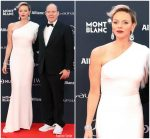 Princess Charlene of Monaco In Stella McCartney  @ 2018 Laureus World Sports Awards