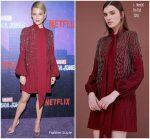 "Rachael Taylor  In J.Mendel  @ 'Jessica Jones""   Season 2 New York Premiere"