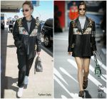 Rita Ora In Prada  Out at  LAX