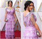 Salma Hayek In Gucci  @  2018 Oscars