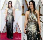 Sandra Bullock In Louis Vuitton @ 2018 Oscars