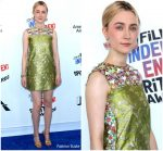 Saoirse Ronan  In Prada  @ 2018 Independent Spirit Awards