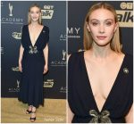 Sarah Gadon In Miu Miu  @  Gala Honouring Excellence in Creative Fiction Storytelling