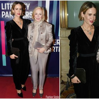 sarah-paulson-in-ulla-johnson-2018-literacy-patners-gala