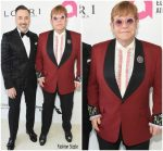 Sir Elton John  In Gucci @  Elton John AIDS Foundation's Academy Awards Viewing Party