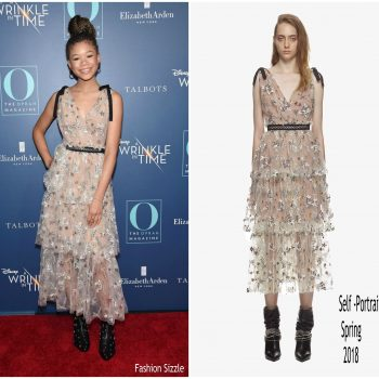 storm-reid-in-self-portrait a-wrinkle-in-time-new-york-screening