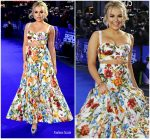 Tallia Storm In Dolce & Gabbana  @ 'Ready Player One' London Premiere