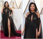 Taraji P. Henson  In Vera Wang  @  2018 Oscars
