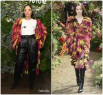 "Tessa Thompson  In Rodarte @ Janelle Monáe's ""Fem the Future"" Brunch in LA"