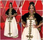 Tiffany Haddish  In  traditional Eritrean Gown  @  2018 Oscars
