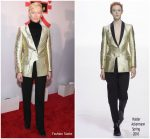 Tilda Swinton In Haider Ackermann  @ 'Isle Of Dogs' New York Screening