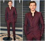 Tom Holland  In Dolce & Gabbana  @ 2018 Vanity Fair Oscar Party