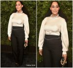 Tracee Ellis Ross  In  Chanel @ 2018 Charles Finch & Chanel Pre-Oscar Awards Dinner
