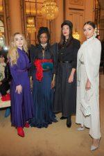 Front Row @  Nina Ricci Fall/Winter 2018 Fashion Show