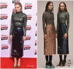 Vanessa Kirby in Erdem @  Empire Awards 2018
