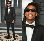 Wiz Khalifa In Dior Homme  @ 2018 Vanity Fair Oscar Party