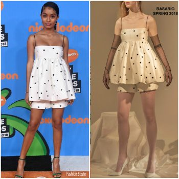 yara-shahidi-in-rasario-nickelodeons-2018-kids-choice-awards