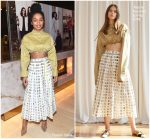Yara Shahidi In Rosie Assoulin @ The Hollywood Reporter And Jimmy Choo Power Stylists Dinner