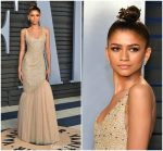 Zendaya Coleman   In  Michael Kors Collection  @ 2018 Vanity Fair Oscar Party