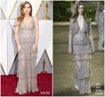 Zoey Deutch In Elie Saab  Couture  @ 2018 Oscars