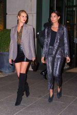 Lily Aldridge  & Rosie Huntington-Whiteley Stylish   – Out In New York
