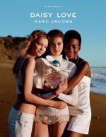 Marc Jacobs 'Daisy Love' Fragrance 2018 : Faith Lynch, Kaia Gerber & Aube Jolicoeur by Alasdair McLellan