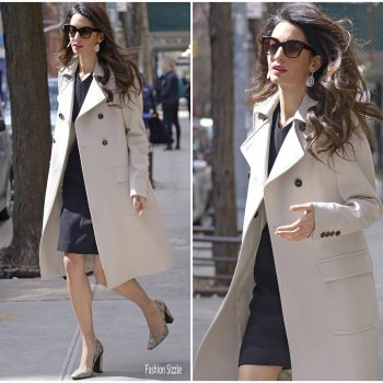 amal-clooney-in-trench-coat-michael-kors-bag-out-in-new-york