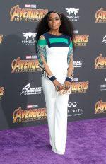 Angela Bassett In Mario Dice  @ 'Avengers: Infinity War' LA Premiere