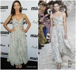 Angela Sarafyan In Etro  @ Marie Claire's 5th Annual 'Fresh Faces'
