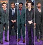 Avengers: Infinity War' LA Premiere Menswear