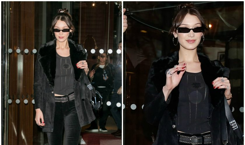 bella-hadid-in-citizens-of-huminity-leaving-her-hotel-in-paris