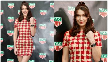 bella-hadid-in-vintage-azzedine-alaia-x-tati-tag-heuer-ginzza-boutique-openeing-ceremony-In-Tokyo