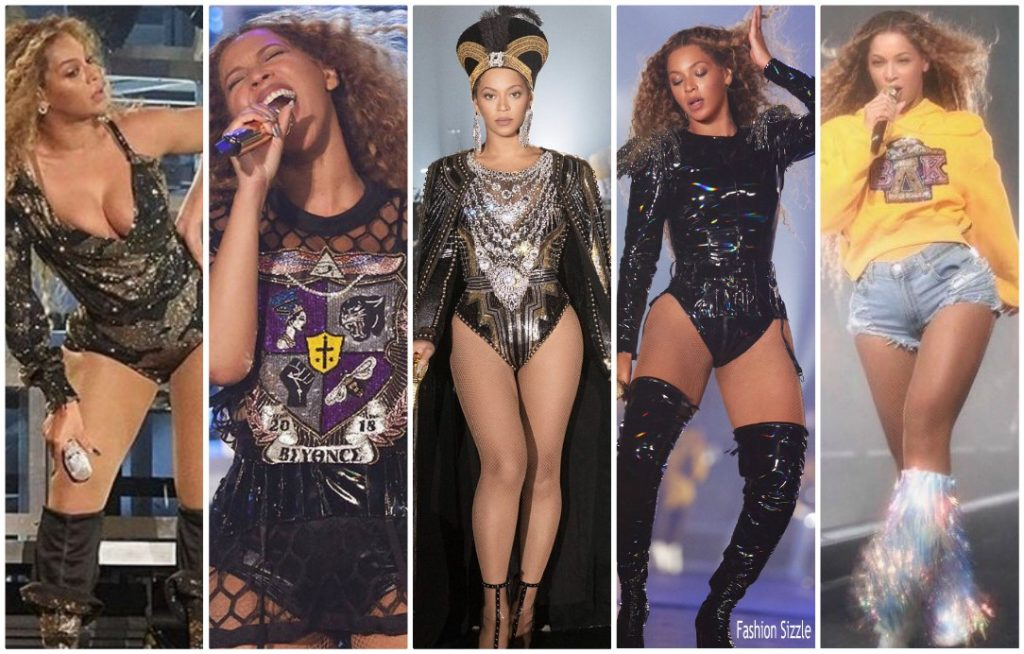Beyonce Knowles In Custom Balmain @ Coachella - Fashionsizzle